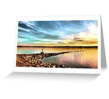 Sunset on Onondaga Lake Greeting Card
