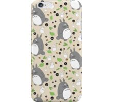 My Neighbour Totoro Pattern - Colour! iPhone Case/Skin