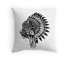 Chief of Pride Throw Pillow
