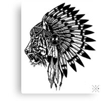 Chief of Pride Canvas Print