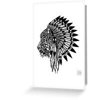 Chief of Pride Greeting Card