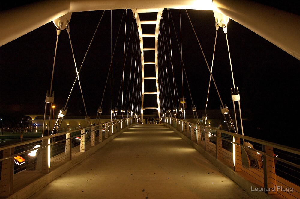 Bridge to higher education by Leonard Flagg