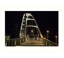 Walking Bridge 2 Art Print