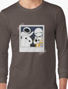 Baymax and Friends Selfie  Long Sleeve T-Shirt