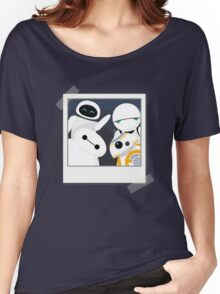 Baymax and Friends Selfie  Women's Relaxed Fit T-Shirt