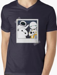 Baymax and Friends Selfie  Mens V-Neck T-Shirt