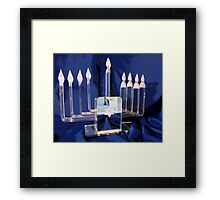 Miracle Lights Framed Print
