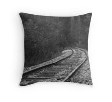 Rail Road Throw Pillow