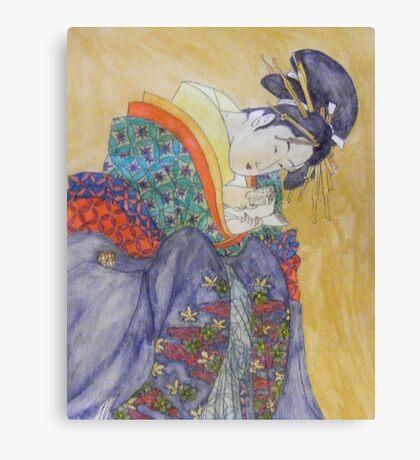 Geisha II Canvas Print