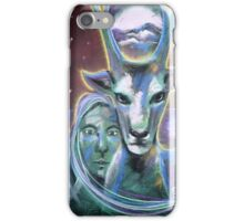 Stag at the Gateway iPhone Case/Skin