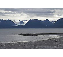 Glaciers Homer Spit Photographic Print