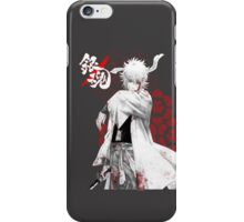 Gintoki's Bushido - Gintama iPhone Case/Skin