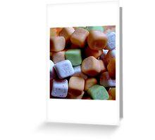 Juicy cube Greeting Card