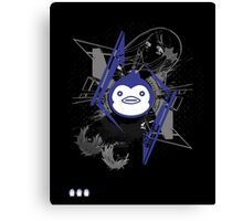 Mawaru PenguinDrum T-shirt Canvas Print