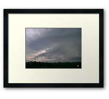 *TVS STORM CELL* Framed Print