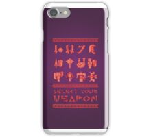 Monster Hunter: Select Your Weapon iPhone Case/Skin