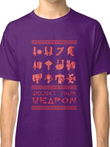 Monster Hunter: Select Your Weapon Classic T-Shirt