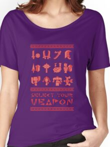 Monster Hunter: Select Your Weapon Women's Relaxed Fit T-Shirt