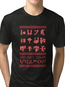 Monster Hunter: Select Your Weapon Tri-blend T-Shirt