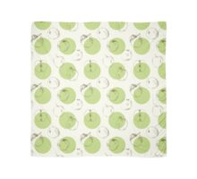 seamless pattern made of scattered decorative apples Scarf