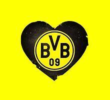 BVB Heart by PollaDorada