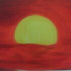 Crimson Sunset by jikpe