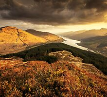 View from Cruach Tairbeirt by NeilBarr