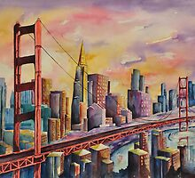 Golden Gate Bridge - San Francisco by Joy Skinner