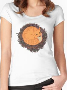 Pretty fox Women's Fitted Scoop T-Shirt