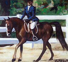 Arabian Hunter Pleasure Portrait by Oldetimemercan