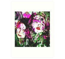 Kylie and Tyler  Art Print