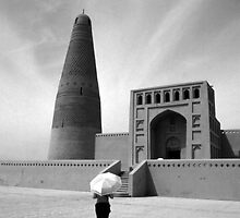 Emin Minaret and Mosque by Joanne Piechota