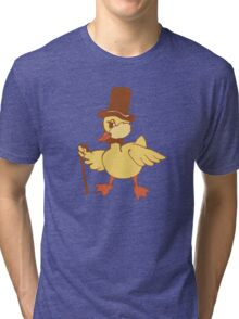 Mr. important Duckling Tri-blend T-Shirt