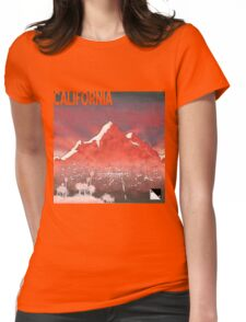 California I Womens Fitted T-Shirt