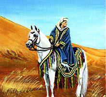 Arabian Horse Native Costume Class Portrait by Oldetimemercan