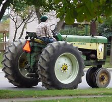 Cool Old Tractor Keeps Truckin' by Bea Godbee