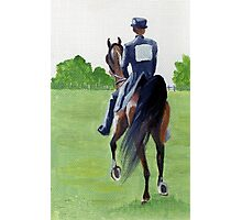 Down The Road American Saddlebred Horse Portrait Photographic Print