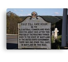 National Highway Canvas Print