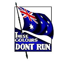 These Colours Don't Run - Australia Photographic Print