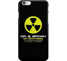 Dr Brown enterprises - Back to the Future iPhone Case/Skin