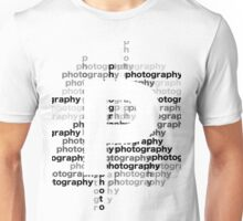 Photography text_06 Unisex T-Shirt
