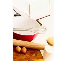 Baking Photographic Print