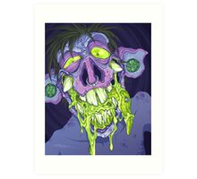 Barf Monster Art Print