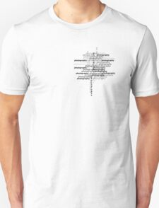 Photography text_02 T-Shirt