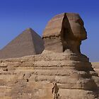 Pyramid and Sphynx by openyourap