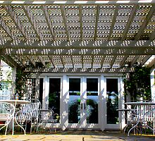 Guest Terrace by Jonathan  Green