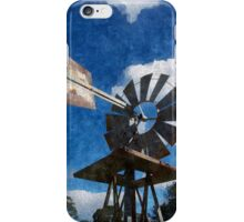 Outback Windmill #3 iPhone Case/Skin