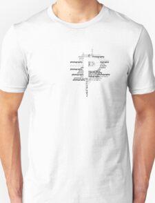 Photography text T-Shirt