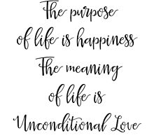 The purpose of life is happiness by Pranatheory