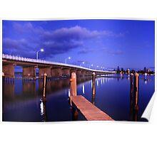 Forster Bridge At Sunrise Poster